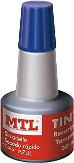 MTL 79535 - Tinta tampones y sellos, 30 ml, color azul