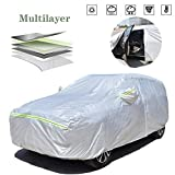 AOYMEI Full Car Cover Waterproof All Weather, Automobile Cover...