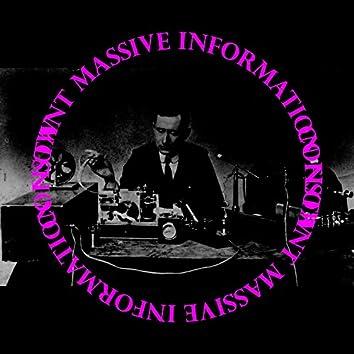 Constant Massive Information Flow