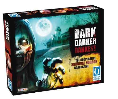 Queen Games 50032 - Dark Darker Darkest, Survival-Horror Spiel