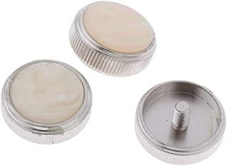 Pack Of Three Euphonium Brass Wind Musical Instrumental Parts Valve Buttons