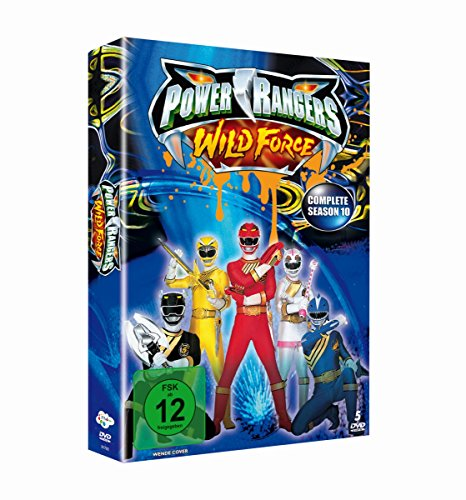 Power Rangers - Wild Force: Complete Season 10 [5 DVDs]