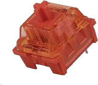 EPOMAKER AKKO CS Radiant Red Linear Switch, 53gf, 3 Pin Switch, 45 Pieces