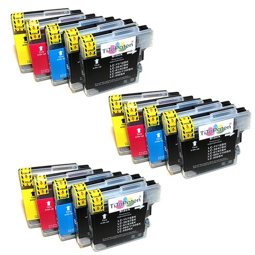 15x Brother DCP 195 C Premium XL Druckerpatronen. Sehr Gute Laufleistung und Preiswert!