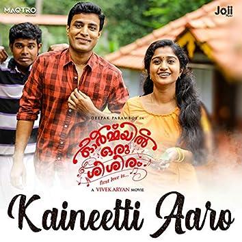 "Kaineetti Aaro (From ""Ormayil Oru Sisiram"")"