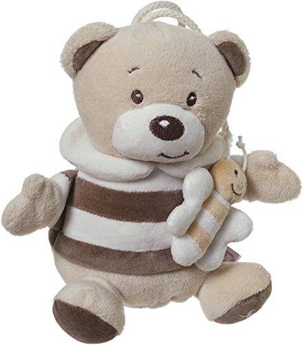 Bieco Musikspieluhr Bär Bubu, 20 cm / Baby Spieluhr / Einschlafhilfe Babys / Baby Musik / Spieluhr Baby / Baby Schlaf / Kuscheltiere für Babys / Einschlafhilfe Kinder / Baby Spielzeug ab 0 Monate