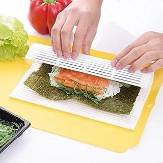 Bureze Esterilla de plástico para Sushi, Resistente, 1 Pieza