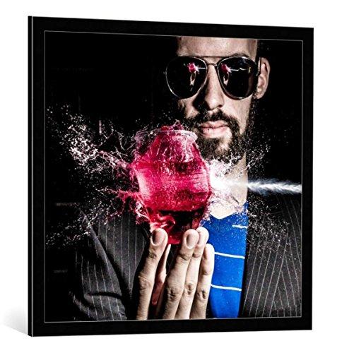 Kunst für Alle Cuadro con Marco: Simon Cesarini Refreshments - Impresión artística...