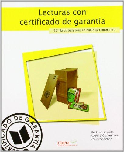 Lecturas con certificado de garantía: 65 (COEDICIONES)