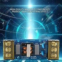 電卓インバーター事務機器自動化システム用精密電源フィルター、高品質EMIフィルター(6A EMI power filter primary filter)