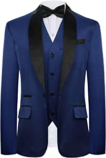 CMDC Men's New Three- pc Contracted Style Groomsman Suit