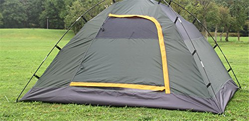 MONEYY Chapiteau avec Double-Couche automatiquement Tente Tente de Camping 210 * 180 * 135cm Anti-tempête de Plein air