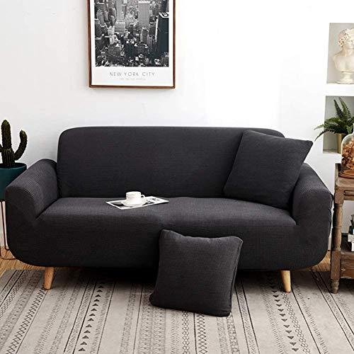 YAOWEI WERTY Estiramiento Sofá Cover, Antideslizante con Todo Incluido sofá Cubierta Cuatro Estaciones Cubierta Universal Completa Muebles Protector para la Tela de Cuero del sofá,2,90cm*140cm