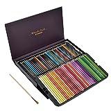 YOTINO Lápices de colores solubles en agua72 para dibujar y colorear, set de dibujo profesional con caja para niños, adultos y artistas