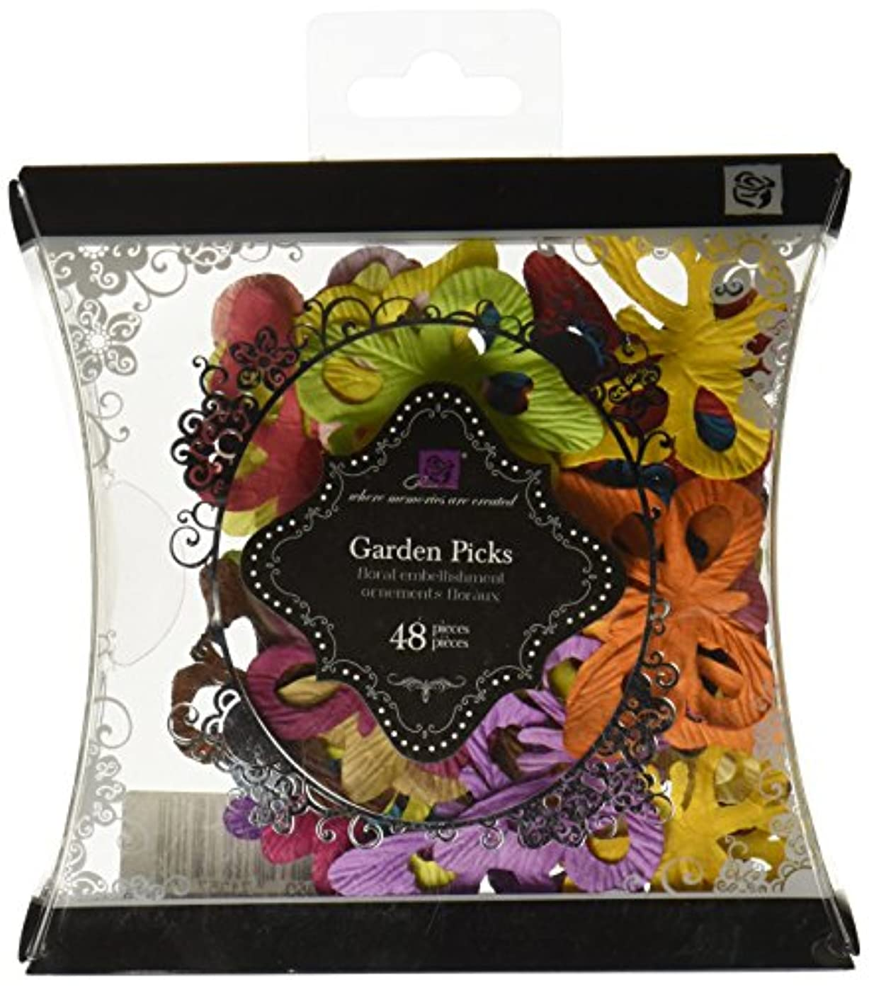 Prima 713577 Garden Picks Assorted Butterfly Die-cuts Pillow Pack, Small