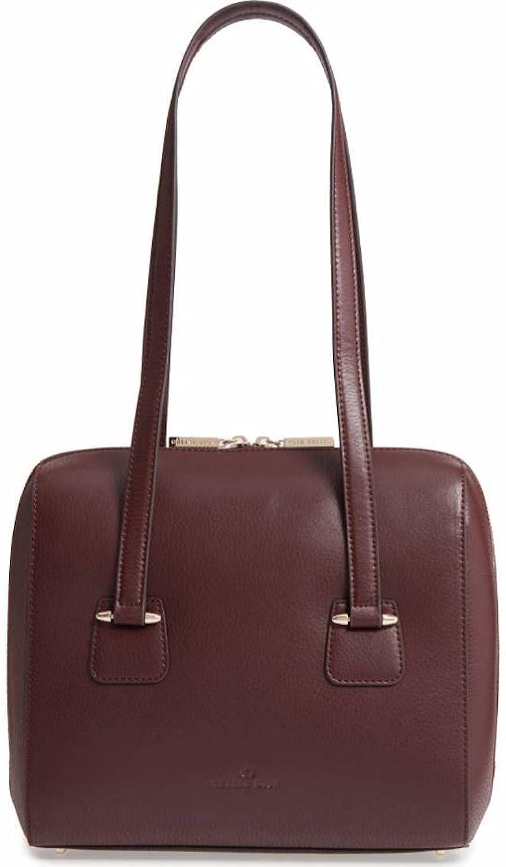 Celine Dion Triad Burgundy Tote Bag [TTE5037]