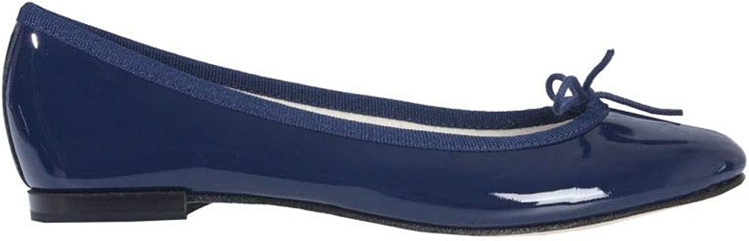 Repetto Women's V086V851 bluee Leather Flats