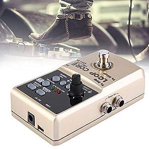 Jadpes Luxusgitarre mit Loop Core, Loop Core Deluxe Gitarren Looper 8 Stunden Loop-Zeit Automatische 24-Bit-Audio-Tempoerkennung zur Leistung im Freien
