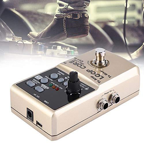 Jadpes luxe gitaar met Loop Core, Loop Core Deluxe gitaar looptijd, 8 uur looptijd, automatische 24-bits audio-Tempohherkenning voor prestaties buitenshuis