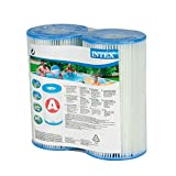 Intex Type A Filter Cartridge for Pools, Twin Pack...