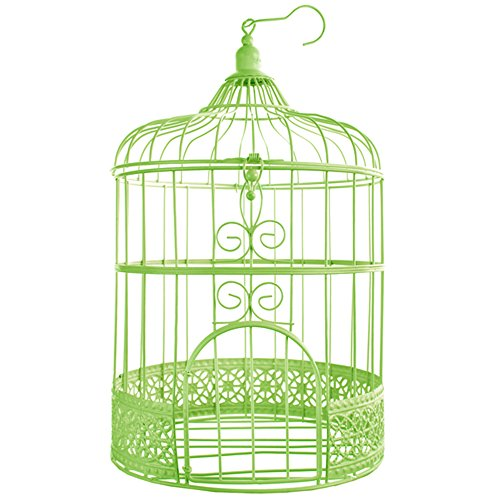 SANTEX 3871-10, Tirelire Cage métal Verte