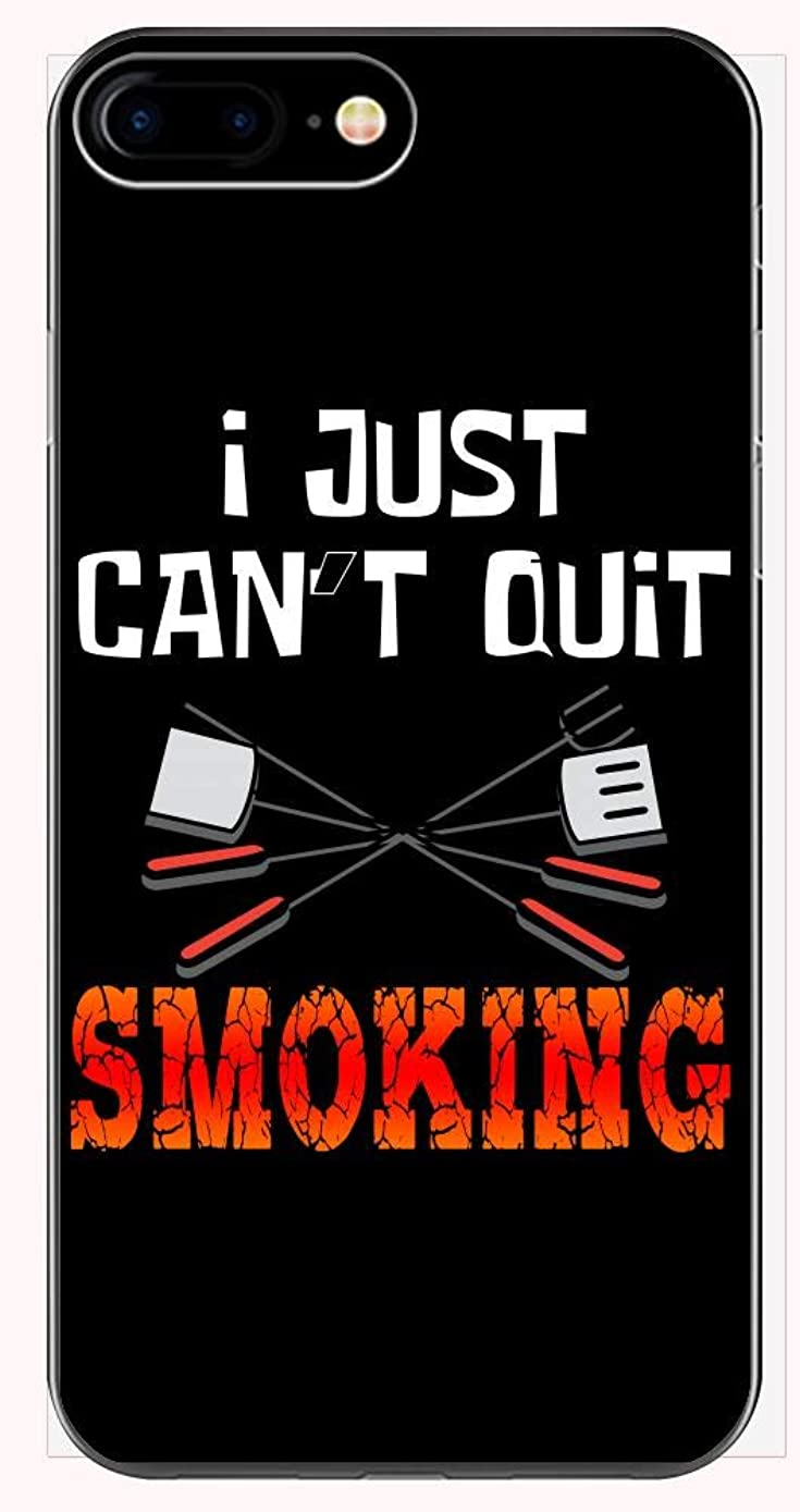 Grill Phone Case for iPhone 6+, 6S+, 7+, 8+ - I Just Can't Quit Smoking - Funny BBQ Gift