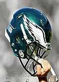 Poster Philadelphia Eagles Helmstrahler