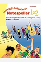 Kid's Guitar Course Notespeller 1 & 2: Music Reading Activities That Make Learning Even Easier! Kindle Edition