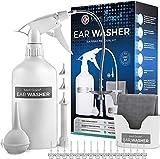 Medi Grade Kit Limpiador de Oídos - Sistema de Jeringa Oídos para Eliminar Cera con 16 en 1 -...
