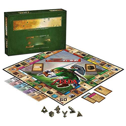 Tablero de juego, Juego de mesa for las edades de los niños de 8 y hasta;La leyenda de Zelda Gamer temáticas Juego de mesa, Juego de mesa | Monopoly de colección Fichas