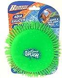 Banzai Green Aqua Saucer Pool Toy 5' Disk (Soak It and Throw It)