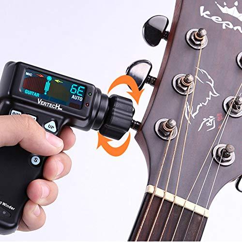 Sintonizador de guitarra con cable USB, sintonizador inteligente ...