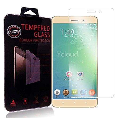 Ycloud Panzerglas Folie Schutzfolie Bildschirmschutzfolie für BLUBOO Maya (5.5 Zoll) screen protector mit Festigkeitgrad 9H, 0,26mm Ultra-Dünn, Abger&ete Kanten