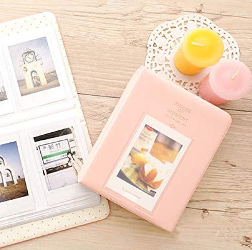 64 bolsillosÁlbum de fotos Mini almacenamiento instantáneo de la caja de imágenes para Mini Film 8Fotografia, b