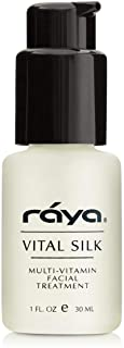 RAYA Vital Silk Serum (509) | Multi-Vitamin Facial Treatment for All Non-Sensitive Skin Beginning to Age | Softens and Smo...