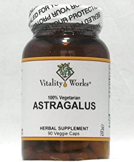 Astragalus Root Vitality Works 90 VCaps