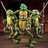 Tortugas Ninja 4PC SHF Leonardo Da Vinci Michelangelo Donatello Raphael Limited Figma Animado PVC Figura 6'