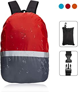 TITE Backpack Rain Cover with Reflective Strap Vertical Adjustable Buckle Fashion Waterproof for Hiking Camping Outdoor Traveloing Activities Clinbing Cycing Gift