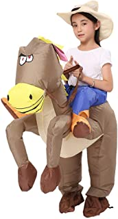 Inflatable Unicorn T-REX/Horse/Sumo Wrestler Wrestling Suits Costume Halloween Party Blow up Costumes Adult/Kids