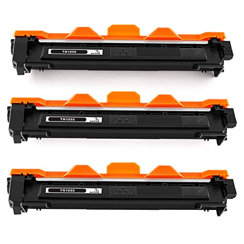 ONINO TN1050 Toner Compatible para DCP-1510 DCP-1512 DCP-1610w DCP-1612 MFC-1810 MFC-1910 W HL-1110 HL-1112A (3pcs)