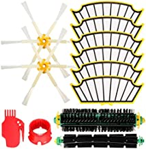 DORLIONA 12pcs Vacuum Cleaner Accessories Filters and Brushes Kit for iRobot Roomba 500 Series