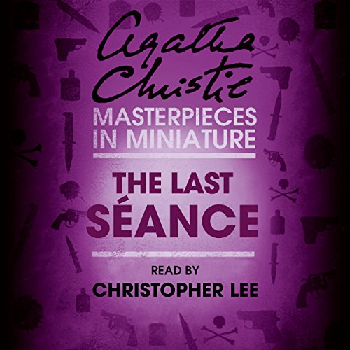 Couverture de The Last Séance: An Agatha Christie Short Story