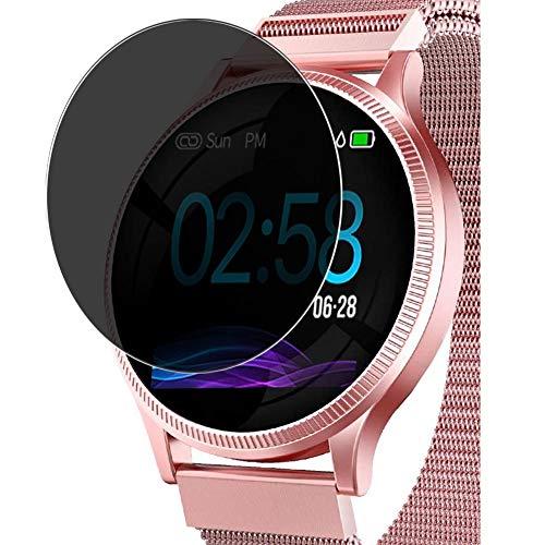 Vaxson Anti Spy Schutzfolie kompatibel mit AIMIUVEI M8 smartwatch Smart Watch, Displayschutzfolie Bildschirmschutz Privatsphäre Schützen [nicht Panzerglas]