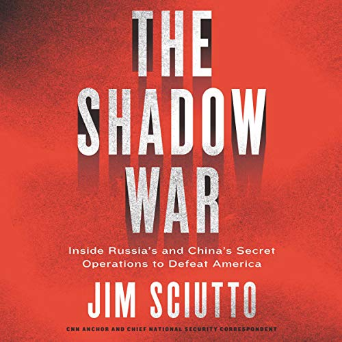 The Shadow War audiobook cover art