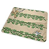 Farmer McGregor Garden Modern style Lettuce Patch Chase Scale Bed Pad Washable Waterproof Urine Pads for Baby Toddler Children and Adults 31.5 X 25.5 inch