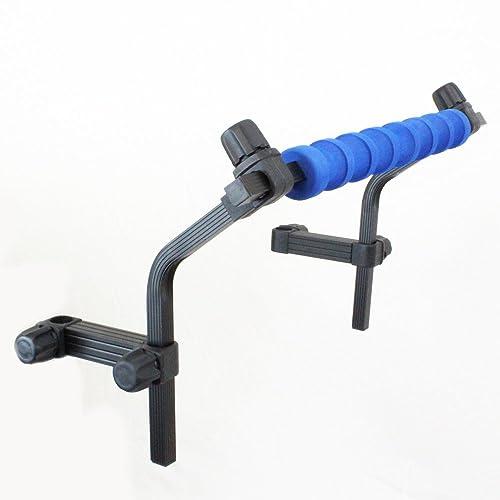 Universal Seat Box Leg Up /& Over Pole /& Rod Rest Set.Fits Chairs /& Seat Box Leg