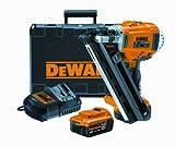 DeWALT DCN690M2 Neúmatico - Martillos eléctricos y grapadoras eléctricas (2.8-3.3 mm, 34°, Negro, Amarillo, 125 mm, 345 mm, 338 mm)