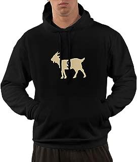 Men's Funny Drew-Brees Goat Hooded Sweatshirt Black