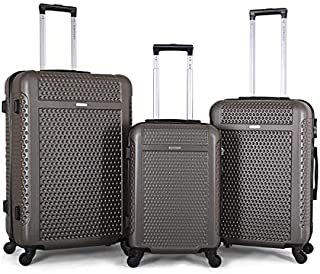 Giordano Luggage Trolley Bags for Unisex - Brown