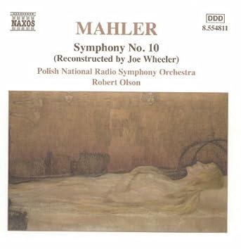 Mahler, G.: Symphony No. 10 (Wheeler, 1966 version)